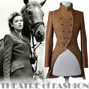 moloh tweed tailcoat riding jacket coat tweed vintage. Black Bedroom Furniture Sets. Home Design Ideas