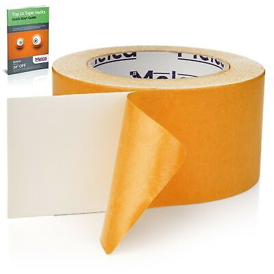 Double Sided Carpet Tape Rug Tape 2.5 Inch Heavy Duty Rug Adhesive 30 Yards