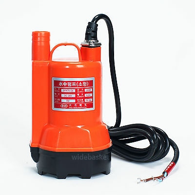 DPW75-24 DC 24V 150W  Submersible Water Pump 1180GPH Max lift 6m for Pond