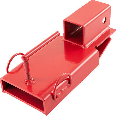 Clamp On Forklift Hitch Receiver 2 Pallet Quick Installation Trailer Bolt Holes