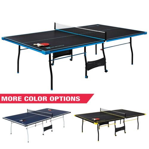 PING PONG TENNIS TABLE PADDLES AND BALLS Set Indoor Outdoor Sports Official Size