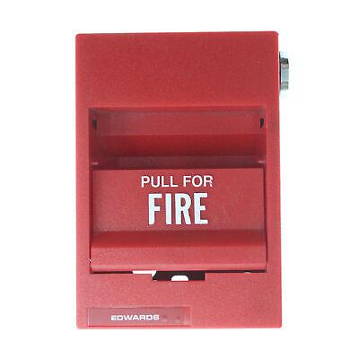 Edwards Est 277b-1120 Single Action Manual Fire Alarm Pull Station Module