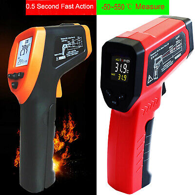 Non-contact Digital Laser Infrared Ir Thermomete Temperature Gun Industrial Us