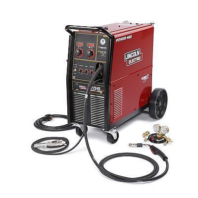 Lincoln K3068-1 Power Mig 256 Mig Welder Package