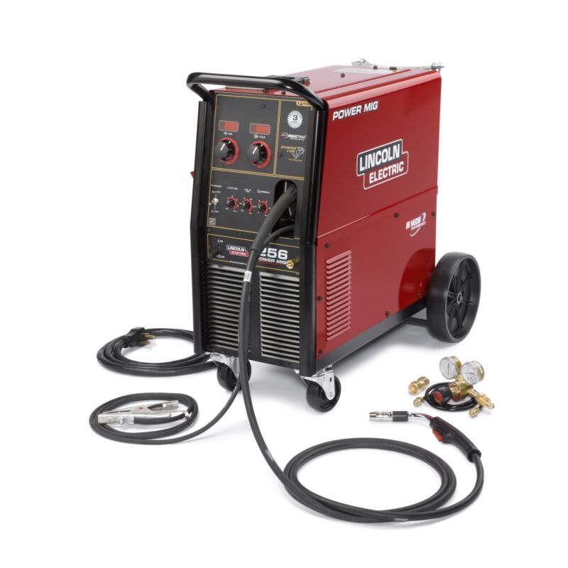 Lincoln K3068-1 Power MIG 256 MIG Welder Package