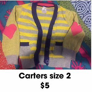 Girls carters sweater size 2