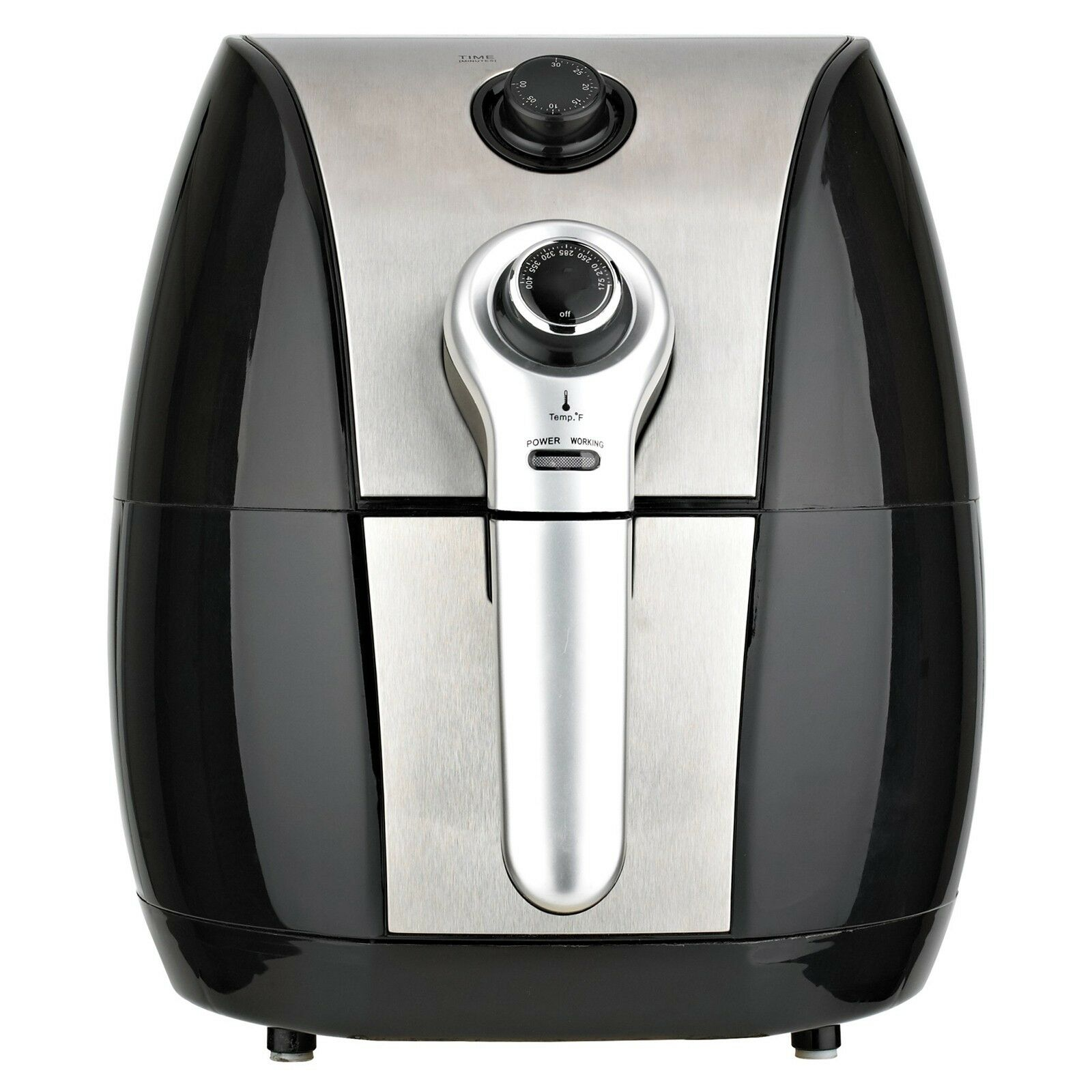 Brentwood 3.4 Quart Electric Air Fryer with Timer & Temperat