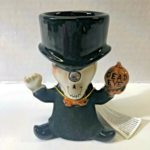 Yankee Candle Boney Bunch Ceramic LED Light Boney DEAD EYE Tea Light Holder