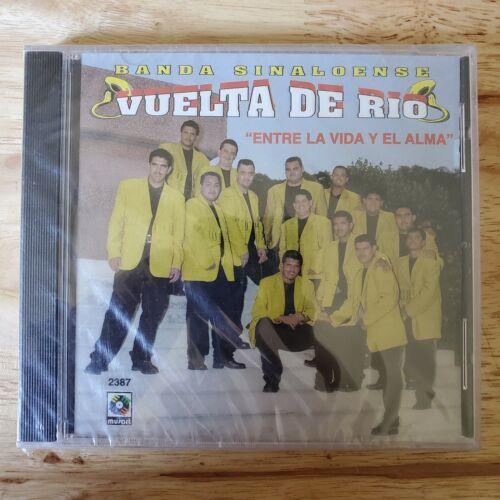 NUEVO Y ORIGINAL BANDA SINALOENSE VUELTA DE RIO Entre Vida Y El Alma CD 2000  - $14.95
