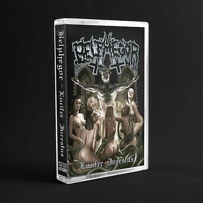 Belphegor - lucifer incestus (cassette tape, Audio Kassette, MC), lim. 200, NEW