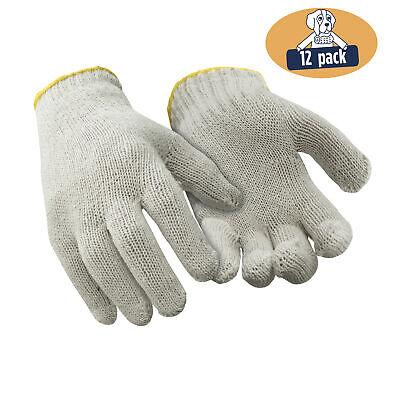 RefrigiWear Lightweight Cotton String Knit Glove Liners Natu
