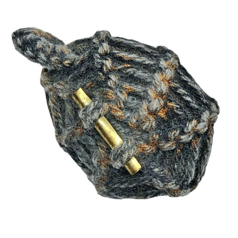 Antique Siamese Cowrie Shell Amulet Buddhist Talisman Thailand Asian Magic