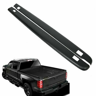 "5'8"" Bed Rail Caps w/ Holes FOR 2007-2013 Chevy Silverado 1500 Extended/Crew Cab"