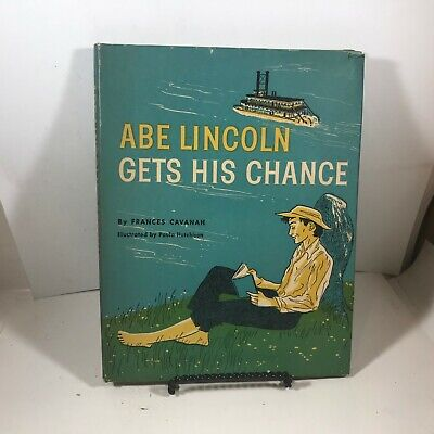 Vintage Children's Hardcover 1959 Abe Lincoln Gets His