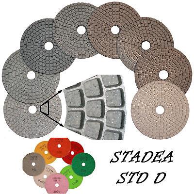 Stadea 4 Diamond Polishing Pads Grit 6000 Wetdry Pad