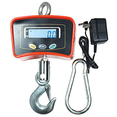 Digital Crane Scale 500 Kg 1100 Lbs Heavy Duty Industrial Hanging Scale