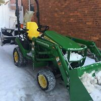 Professional snow removal services book now!