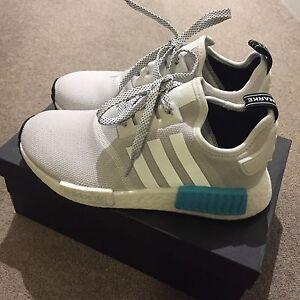 US5 Adidas Nmd R1 bright cyan Melbourne CBD Melbourne City Preview