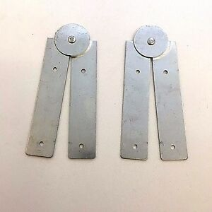 table hinge. paste board hinges - 424 folding pasting table hinge 240mm zinc plated pair