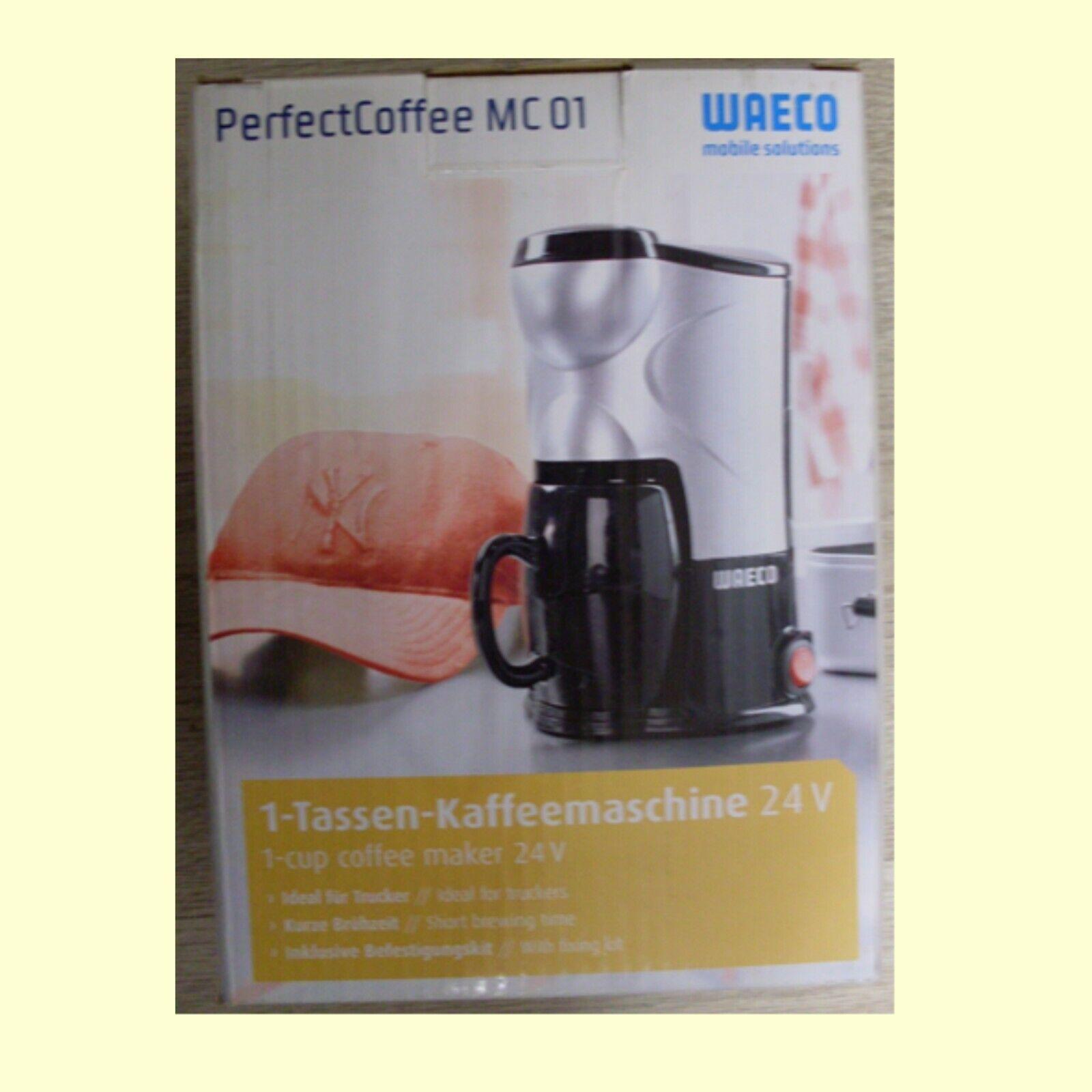 24V 24 Volt WAECO 1 Tassen Kaffeemaschine MC-01-24 PerfectCoffee LKW