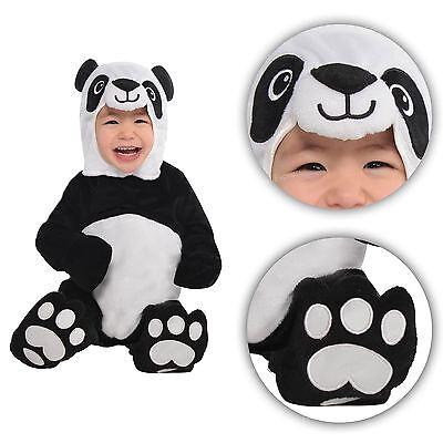 Kung Fu Panda Costume Toddler (0-24 Months Babies Panda Fancy Dress Costume Infant Toddler Animal Jungle)