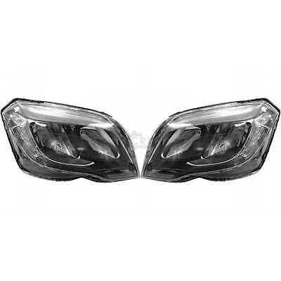 Scheinwerfer Hauptscheinwerfer Set für Mercedes GLK-Klasse X204 Bj. 13->>