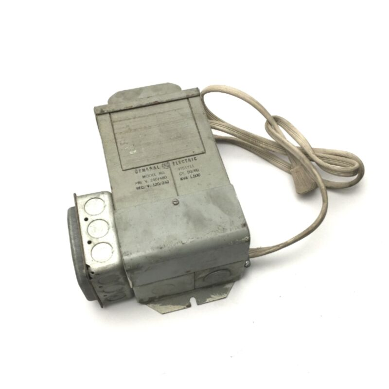 General Electric 9T51Y11 Dry Type Transformer Pri.240/480V, Sec.120/240V, 1.5KVA