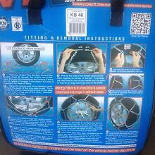 Toyota prado 120 snow chains Never used. Ringwood Maroondah Area Preview