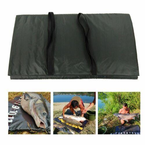 Fishes Unhooking Mat Lightweight Fish Protection Fold Over Straps Protective Pad
