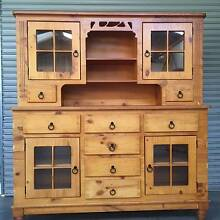 Rustic handcrafted buffet & hutch/kitchen cupboard. Uralla Uralla Area Preview