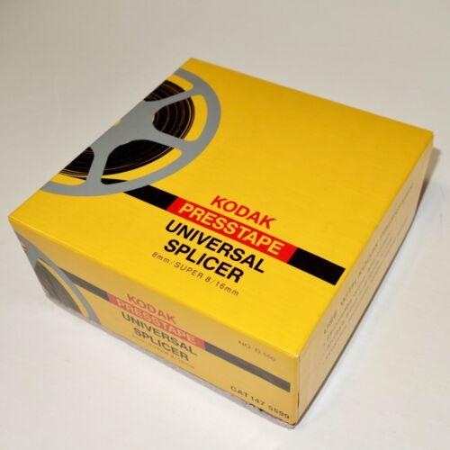 Kodak Presstape Universal Splicer D550, 8mm / Super 8mm / 16mm + NEW Presstapes