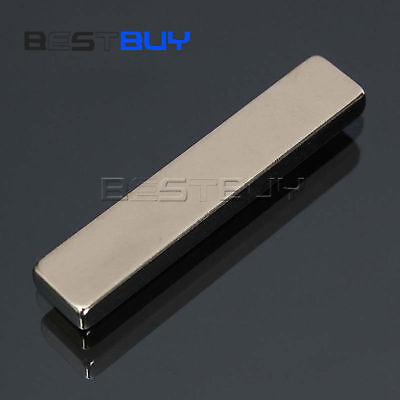 Super Strong Long Block Bar Magnet 50 X 10 X 5 Mm Earth Neodymium N50 Grade Bbc