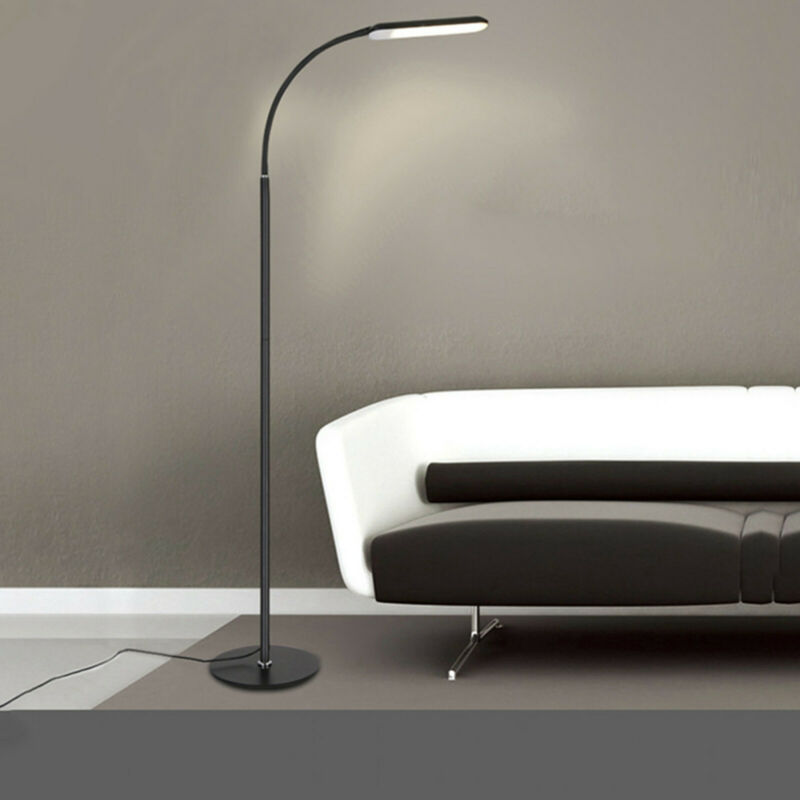 Adjustable LED Floor Lamp Light Standing Reading Living Room