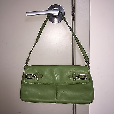 Green Zippered Faux Leather Purse - Aurielle Olive Green Faux Leather Buckle Purse with Zipper Closure
