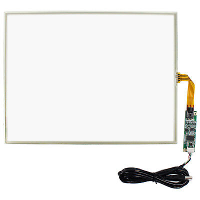 14.1 Resistive Touch Panel For 14.1inch 1024x768 1400x1050 Lcd Usb Controller