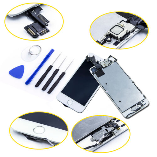 OEM LCD Lens Touch Screen Display Digitizer Replacement Assembly for iPhone 5S