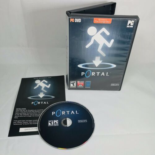 Computer Games - Portal (PC, Computer Game, 2008) DVD-ROM Windows Excellent Free Shipping