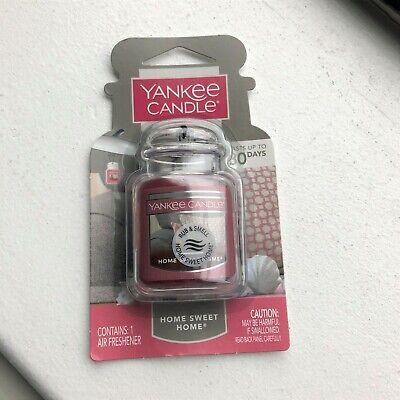 NIB, New: Yankee Candle Car Jar Ultimate - 'Home Sweet Home' scent air freshener