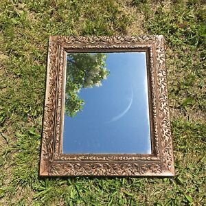 Antique mirror vintage frame