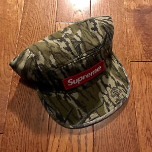 FW18 Supreme Mossy Oak Military Camp Cap