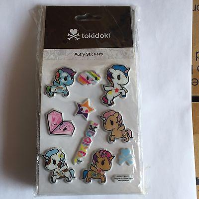 tokidoki Puffy Sticker - unicorno