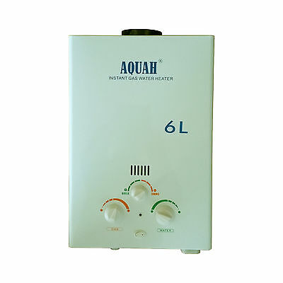 New Aquah On Demand Propane Lpg Tankless Gas Water Heater Up To 2 0 Gpm