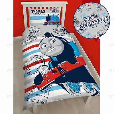 Thomas & Friends 'AVVENTURA' copripiumino per letto singolo set di 2 IN