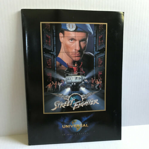Street Fighter 1994 Original Movie Studio Press Kit Photos Jean-Claude Van Damme