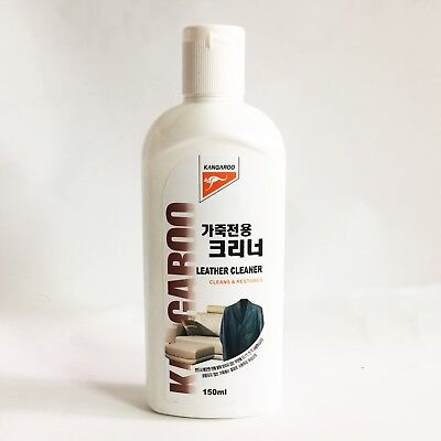 150ml Kangaroo Leather Cleaner Cleanse, Restores Polish Shoes Bag Korean product