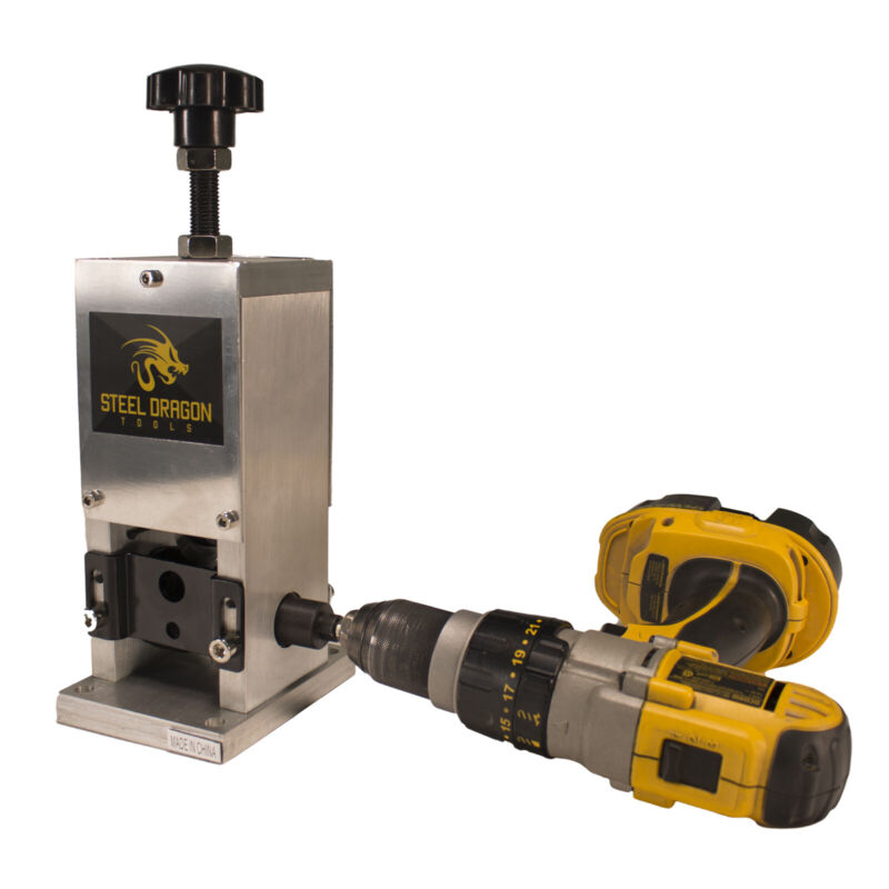 Steel Dragon Tools® WRA15 Benchtop Automatic Wire Stripping Machine