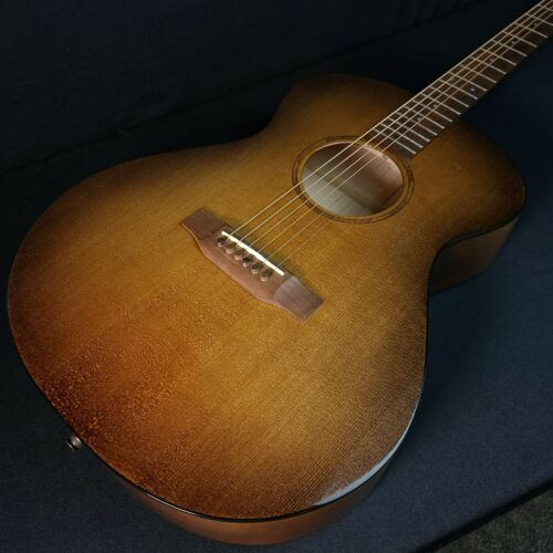Used Bedell Earthsong Concert Electric Guitar with Case