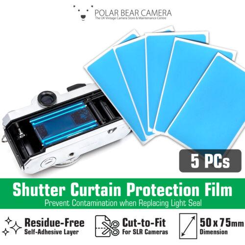 Camera Light Seal Replacement Shutter Protection Film for Film SLR Repair