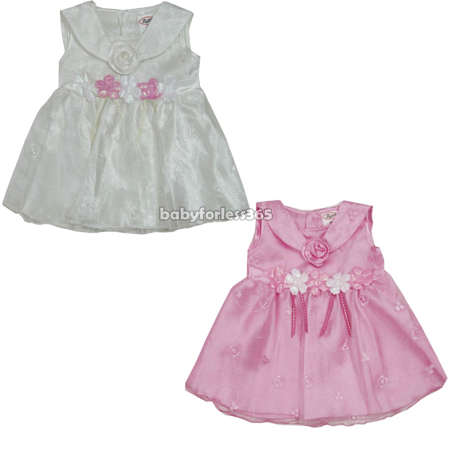newborn infant baby girl dress 2 pieces set clothing