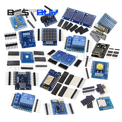 Wemos D1 Mini Nodemcu Wifi Development Board Relay Protoboard Shield Arduino Bbc